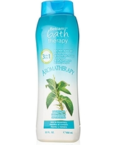 Belcam Bath Therapy Body Wash and Foam Bath, Mint and Rosemary, 32 Fluid Ounce