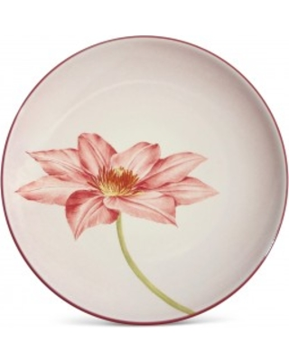 Noritake Colorwave Raspberry Clematis Floral Accent Plate
