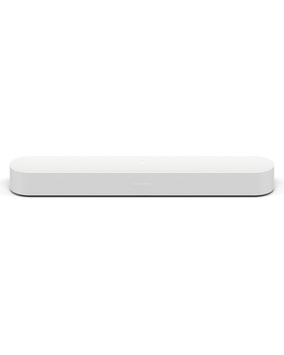 Sonos Beam Compact Smart Sound Bar with Voice Control (White)