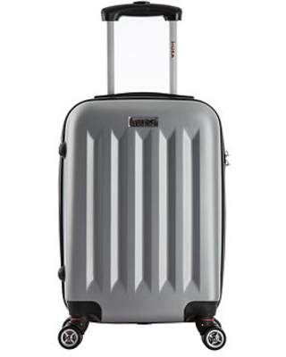 InUSA Philadelphia Lightweight Hardside Spinner 19 Inch Carry-On Luggage, One Size , Gray