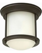 "Hinkley Hadley 7 3/4"" Wide Oil Rubbed Bronze Ceiling Light"
