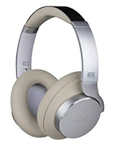 Altec Lansing Comfort Q+ Bluetooth Headphones, Active Noise Cancellation, Comfortable, Quite, Noise Cancelling Headphone, Up to 26 Hours of Playtime, 30 Ft. Wireless Range, White/Cream