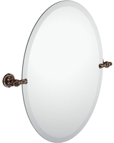 Moen Gilcrest 26 in. x 23 in. Frameless Pivoting Wall Mirror in Oil-Rubbed Bronze, Oil Rubbed Bronze