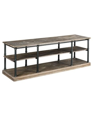 Darrington Collection 823-585 ENTERTAINMENT CONSOLE in Glazed Mocha and Bronze