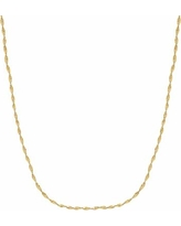 """Everlasting Gold 14k Gold Singapore Chain Necklace - 18 in., Women's, Size: 18"""""