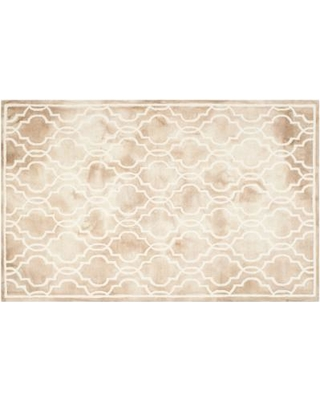 Safavieh Crosby Framed Quatrefoil Dip-Dyed Wool Rug, Multicolor