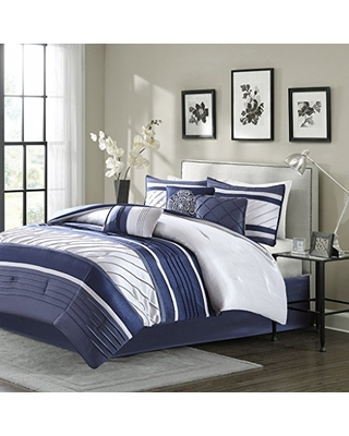 Get This Deal On Madison Park Blaire Cal King Size Bed Comforter
