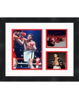 Frames By Mail Muhammad Ali Collage Framed Photographic Print TP05-10-00-BOXMA4