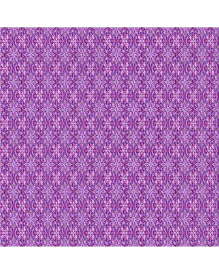 East Urban Home Penney Damask Wool Purple Area Rug W002567863 Rug Size: Square 5'