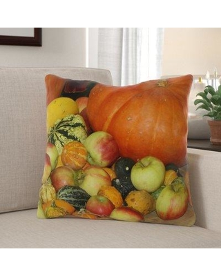 The Holiday Aisle Yerkes Thanksgiving Indoor/Outdoor Throw Pillow W000551643