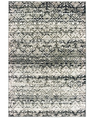 Avalon Home Brecken Hi-Low Textured Distressed Tribal Area Rug or Runner, Multiple Sizes