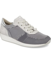 Women's Ara Lilly Sneaker, Size 6 M - Grey