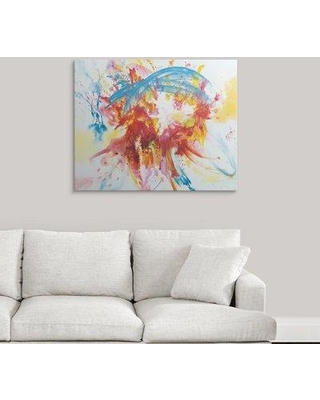 """Great Big Canvas 'Summer Days' Painting Print 2424765_1 Size: 29"""" H x 36"""" W x 1.5"""" D Format: Canvas"""