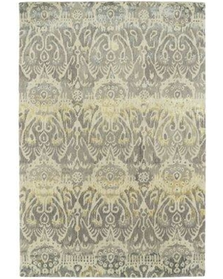 """Bungalow Rose Lincolnton Hand-Tufted Silver Area Rug BGLS7266 Rug Size: Rectangle 3'6"""" x 5'6"""""""