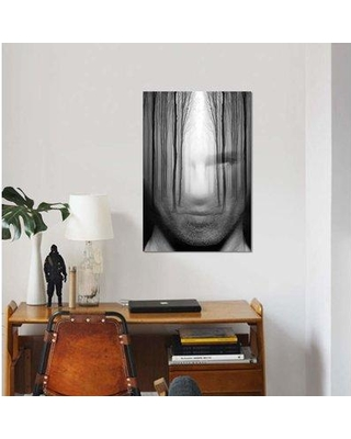 """East Urban Home 'Forest Man' Graphic Art Print on Canvas FCIU3297 Size: 12"""" H x 8"""" W x 0.75"""" D"""
