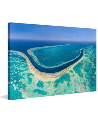 """Marmont Hill 'Gbr' Painting Print on Wrapped Canvas MH-AIRPANO-33-C- Size: 20"""" H x 30"""" W x 1.5"""" D"""
