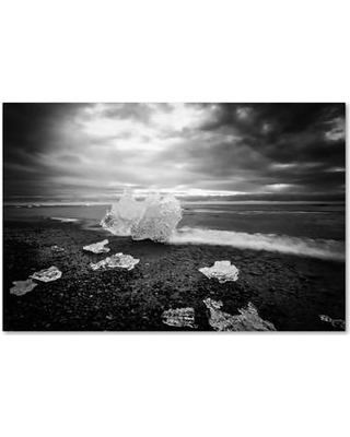 New Deal For Trademark Fine Art Ice World By Philippe Sainte Laudy Photographic Print On Wrapped Canvas Canvas Fabric In Brown White Black Wayfair