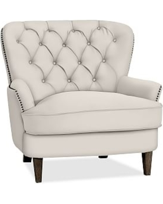 Cardiff Upholstered Tufted Armchair