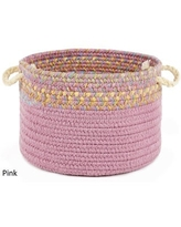 Kids Place 10 x 8-inch Basket by Rhody Rug (Pink)