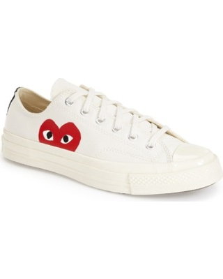 c395d9e10384 Can t Miss Deals on Men s Comme Des Garcons Play X Converse Chuck ...