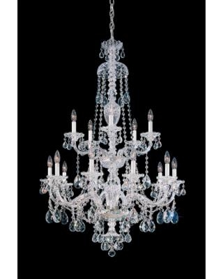 Schonbek Sterling 32 Inch 15 Light Chandelier - 3608-40H