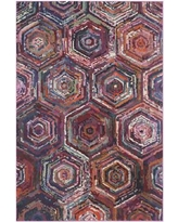 """Bungalow Rose Chana Pink/Purple Area Rug BNGL6649 Rug Size: Rectangle 5'1"""" x 7'7"""""""