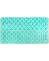 Attraction Design Home Non-Slip Wave Shower Mat ATHD1429 Color: Teal