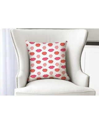 """Ebern Designs Tatianna Throw Pillow ENDE3975 Size: 26"""" x 26"""" Location: Indoor Use Only"""