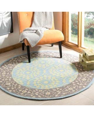 New Deal For Bungalow Rose Tomo Oriental Hand Hooked Chocolate Area Rug Cost8330 Rug Size Round 5