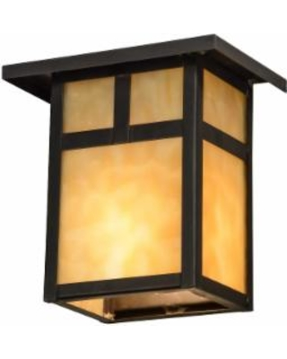 Meyda Lighting Hyde Park T Mission 6 Inch Wall Sconce - 73420
