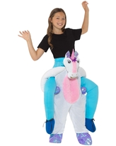 Children's Piggyback Unicorn Costume