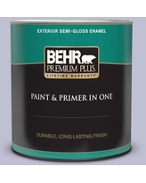 Discover Deals On Behr Ultra 1 Qt S560 2 Lavender Honor Flat Exterior Paint And Primer In One