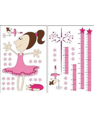 Wizard & Genius 74100 Fairy Growth Chart Wall Decals