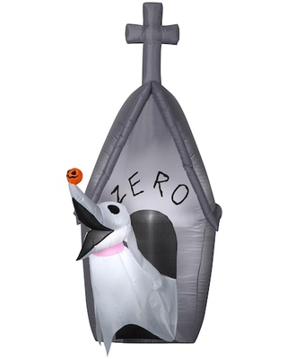 5Ft Airblown® Inflatable Halloween Disney® Zero & Doghouse By Gemmy Industries   Michaels®
