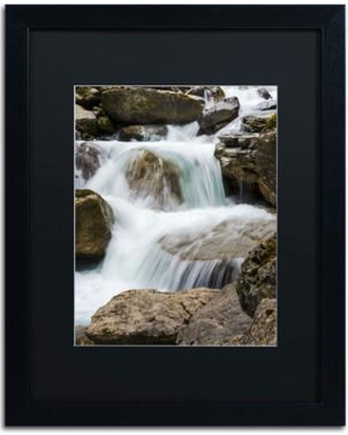 """Trademark Fine Art 'A Very Long Story' by Philippe Sainte-Laudy Framed Photographic Print PSL0296-B1 Matte Color: Black Size: 20"""" H x 16"""" W"""
