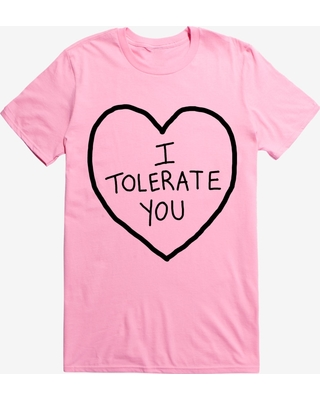 Valentine's I Tolerate You T-Shirt