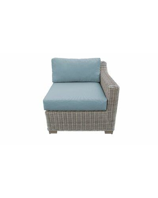 Rosecliff Heights Claire Patio Chair with Cushions ULDM5313 Cushion Color: Spa