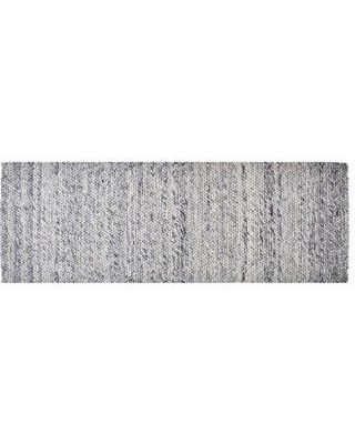 Foundry Select Colton Hand-Woven Wool Blue Ash Area Rug CG107777 Rug Size: Runner 2' x 6'