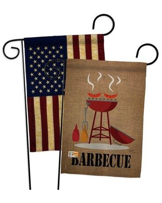 Discover Deals On Breeze Decor Barbecue Impressions Decorative 2 Sided Polyester 19 X 13 In Garden Flag In Brown Wayfair Bd Su Gp 106076 Ip Boaa D Us14 Bd
