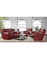 Here S A Great Deal On Ebern Designs Maner Double Reclining Loveseat Upholstery Polyester Polyester Blend In Crimson Size 40 H X 78 W X 38 D Wayfair