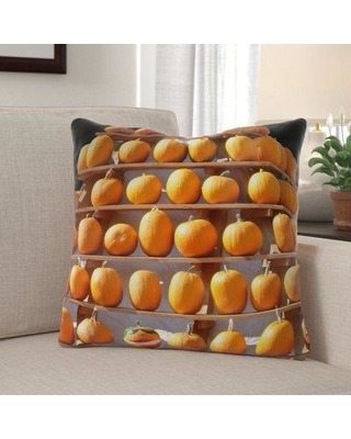 Don T Miss Sales On The Holiday Aisle Ziemer Thanksgiving Indoor Outdoor Throw Pillow Polyester Polyfill Polyester Polyester Blend In Orange Size 18x18 Wayfair