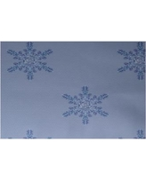 The Holiday Aisle Flurries Decorative Holiday Print Blue Indoor/Outdoor Area Rug HLDY5870 Rug Size: Rectangle 2' x 3'