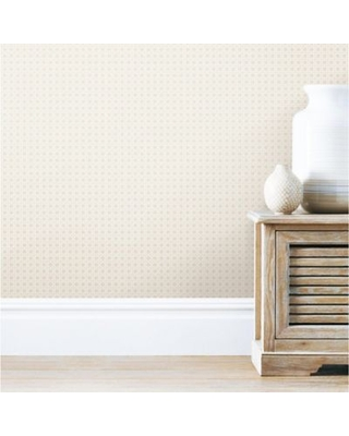 Roommates® Caining Peel and Stick Wallpaper in Tan