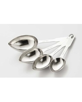 Cook Pro 4 Piece Stainless Steel Measuring Spoon Set 255