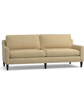 """Beverly Upholstered Grand Sofa 90"""", Polyester Wrapped Cushions, Performance Everydaysuede(TM) Oat"""