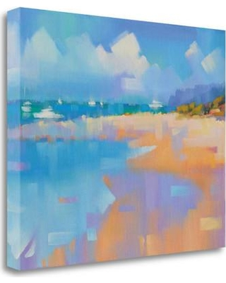 """Tangletown Fine Art 'Playa 14' Print on Wrapped Canvas ICK2256D-2117c Size: 33"""" H x 41"""" W"""