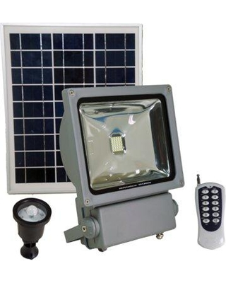 Goes Green Network Solar LED Flood/Security Light SGG-FL3W-EXTREME