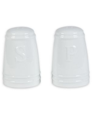 Everyday White® by Fitz and Floyd® Bistro Salt and Pepper Shakers