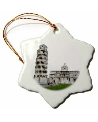Sales On The Holiday Aisle Tower Of Pisa Italy Holiday Shaped Ornament Ceramic Porcelain In Gray Size 3 H X 3 W Wayfair