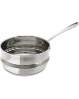 All-Clad Stainless-Steel 3-Qt. Double Boiler Insert